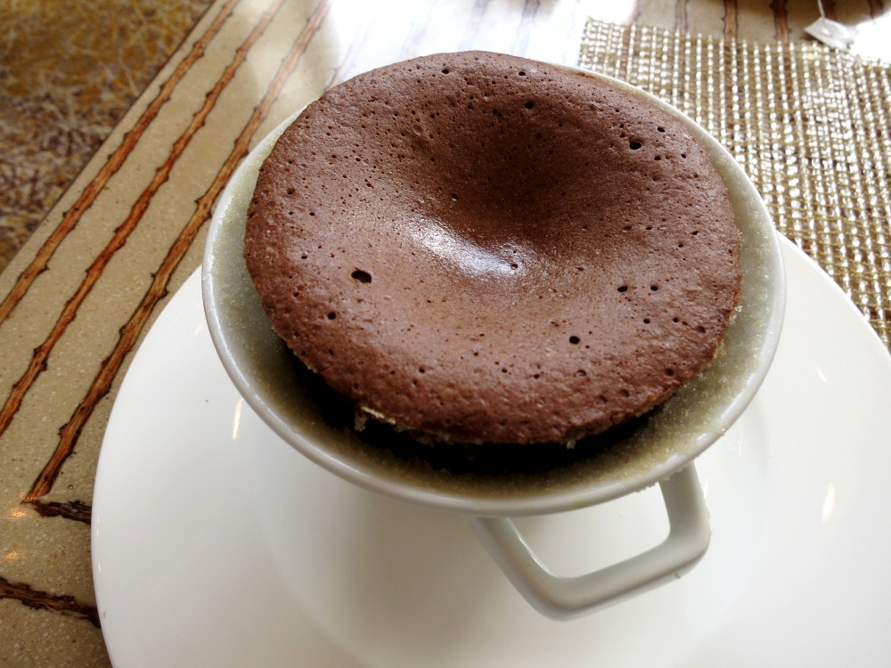 Chocolate Souffle: a choco-gasm waiting to happen