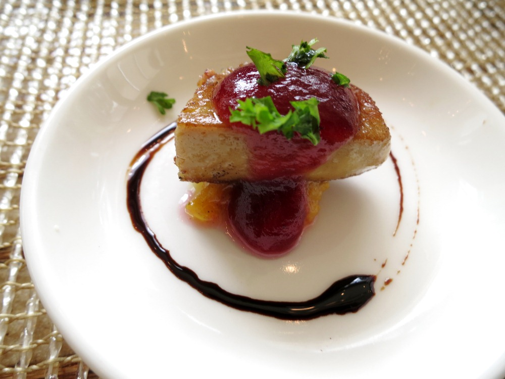 This pass-around foie gras was so good, most of us asked for seconds