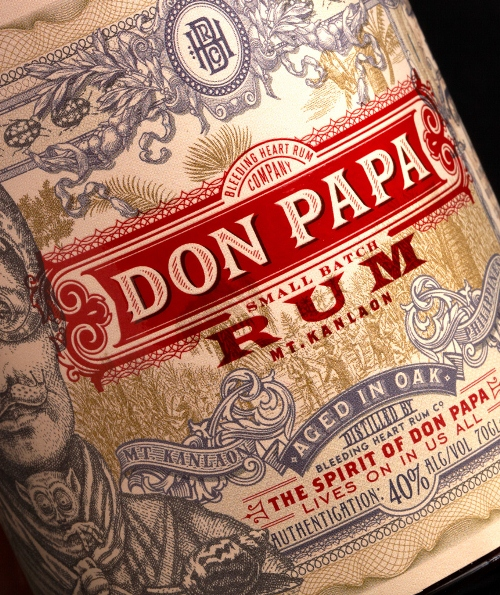 Don Papa Rum Label Detail_2