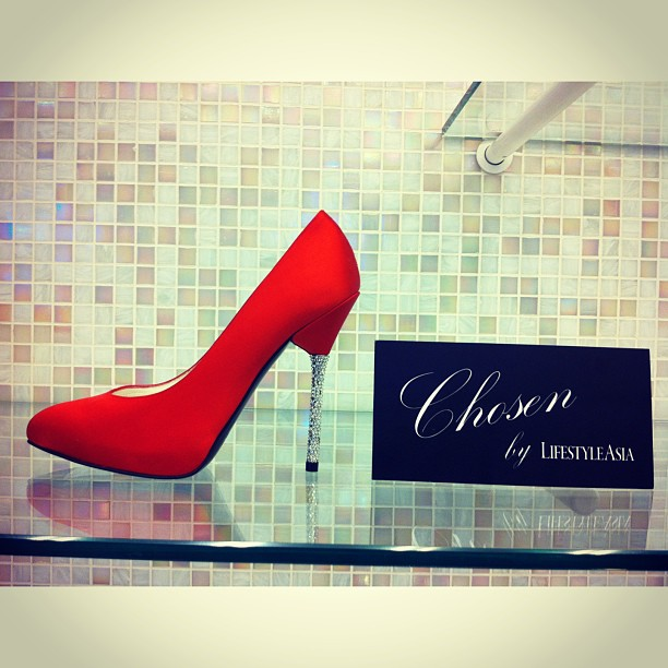 Stuart Weitzman red pumps