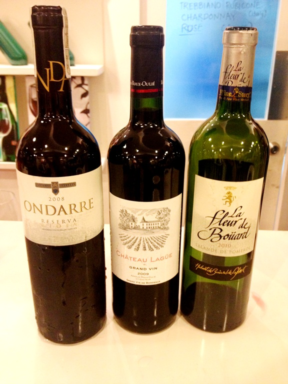 Our BYOB Wines