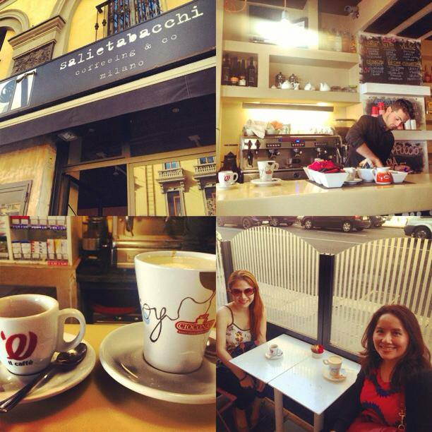 Cheryl tiu personal blog for Best coffee in milan