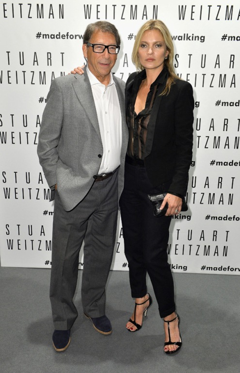 Stuart Weitzman and Kate Moss n Stuart Weitzman SINFUL evening sandals (Photo courtesy of Stuart Weitzman)