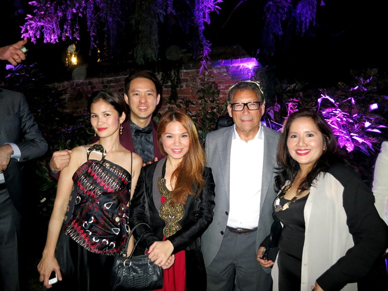 The Philippine Team with Mr. Stuart Weitzman! What an honor!