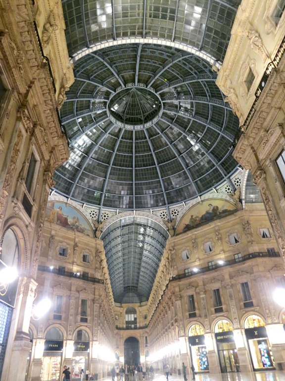 The stunning Vittorio Emanuele, one of the world's oldest malls, was named after the first king of Italy