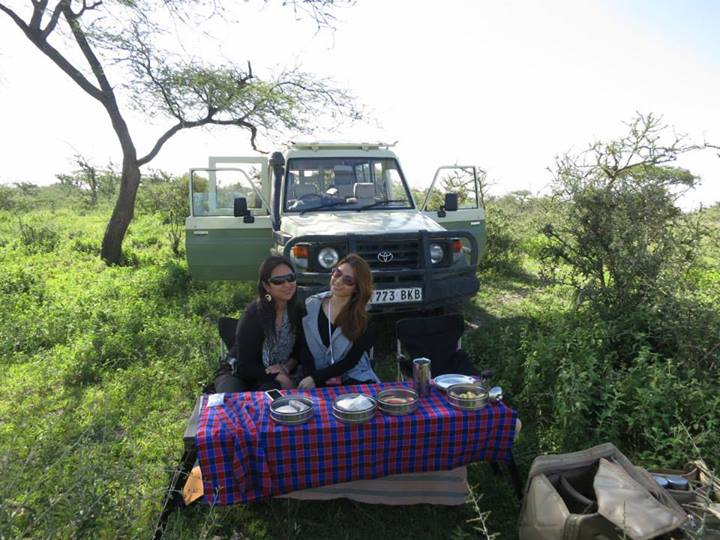 Breakfast in the wilderness Serengeti Safari Camp Christine Dayrit Cheryl Tiu