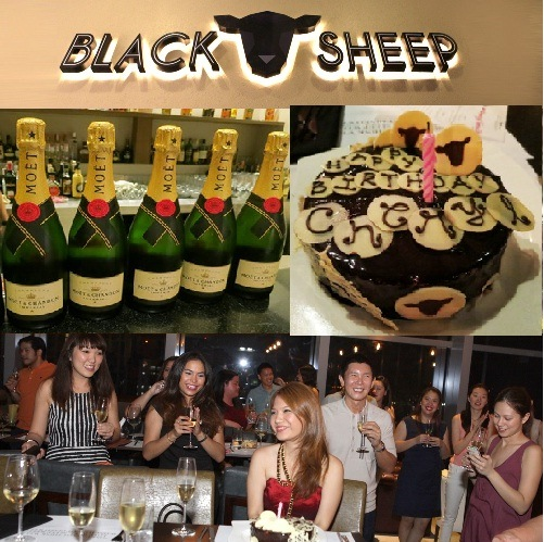Cheryl Tiu Birthday Black Sheep