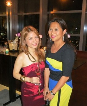 With my forever travel buddy, Christine Dayrit!