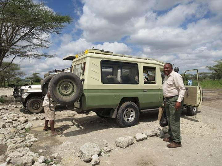 Our guide at Serengeti Safari Camp (SSC), Emmanuel Njawa. Please book him when you go, he is the best!!!
