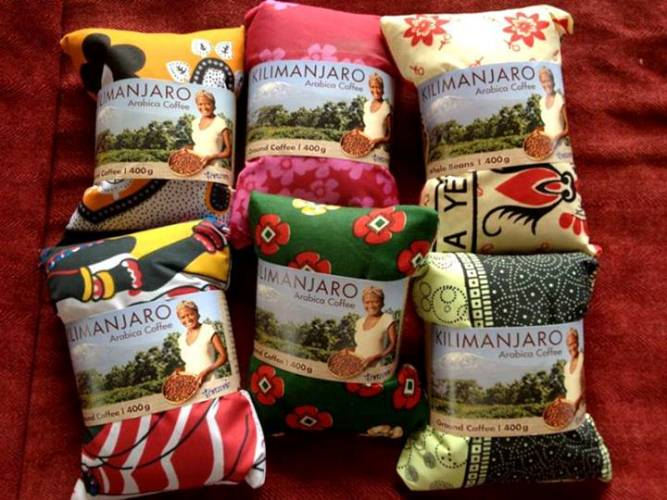 Kilimanjaro coffee make great souvenirs! Love the packaging too!