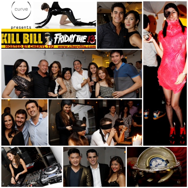 Kill Bill Friday the 13th Curve Room Collage