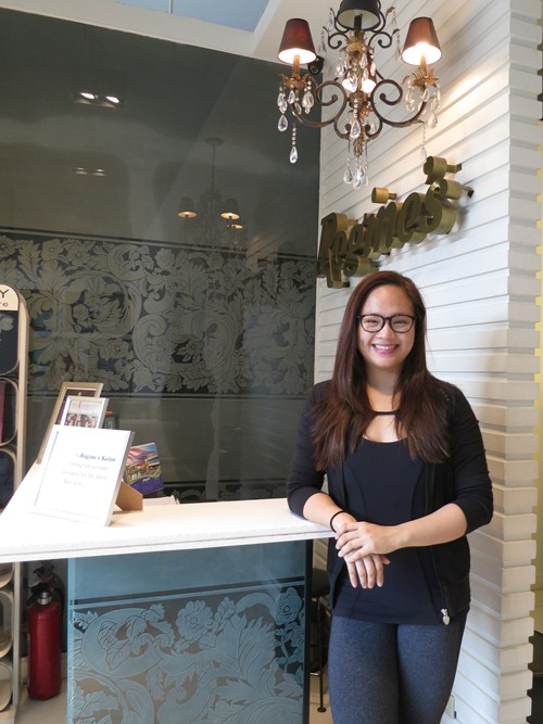 Owner Karina Mantolino represents the third (hair-dressing) generation of her family, and runs the salon full time. She is super duper nice, and extremely talented!