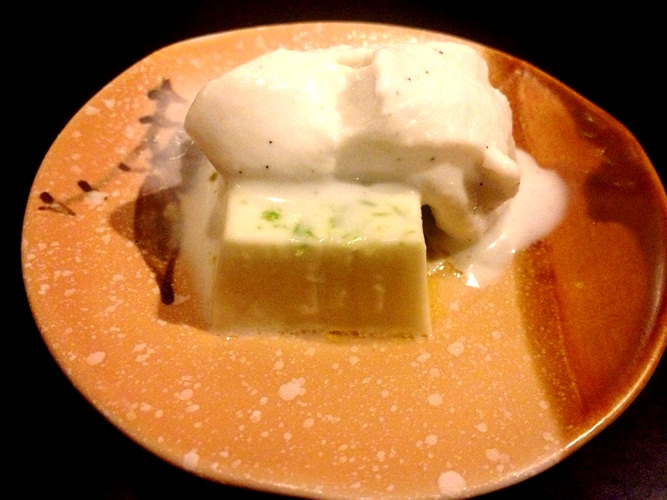 Coconut and white chocolate