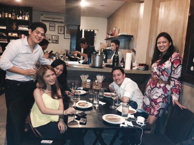 Had the best time with these guys! Daniel Dy, yours truly, Janelle Pimentel, Carlo Calma and Mia Dragon-Floirendo