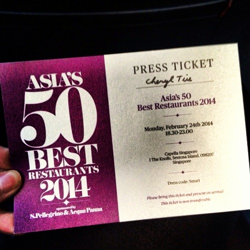 On the way to Asia's 50 Best!