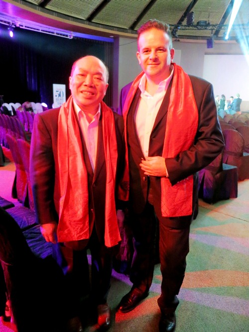 Four Seasons- Chan Yan Tak of Lung King Heen- and Fabrice Vulin of Caprice