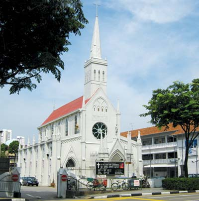 Our Lady of Lourdes Church Singapore