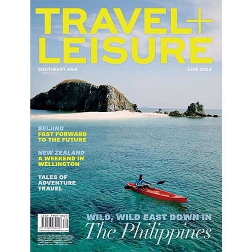 Coron, Palawan in Travel & Leisure Southeast Asia June 2014