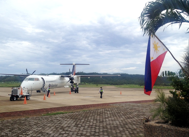Philippine Airlines' PAL Express flies directly from Manila to Busuanga, Palawan daily