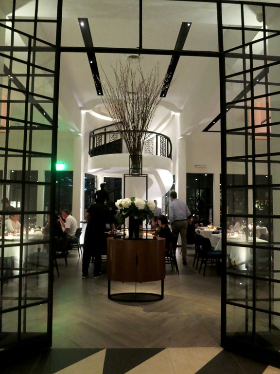 The entrance to the main dining are of Black Bird.. it's a HUGE space, with both indoor and outdoor seating The entrance to the main dining are of Black Bird.. it's a HUGE space, with both indoor and outdoor seating