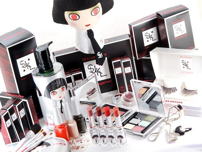 Karl Lagerfeld for Shu Uemura Collection