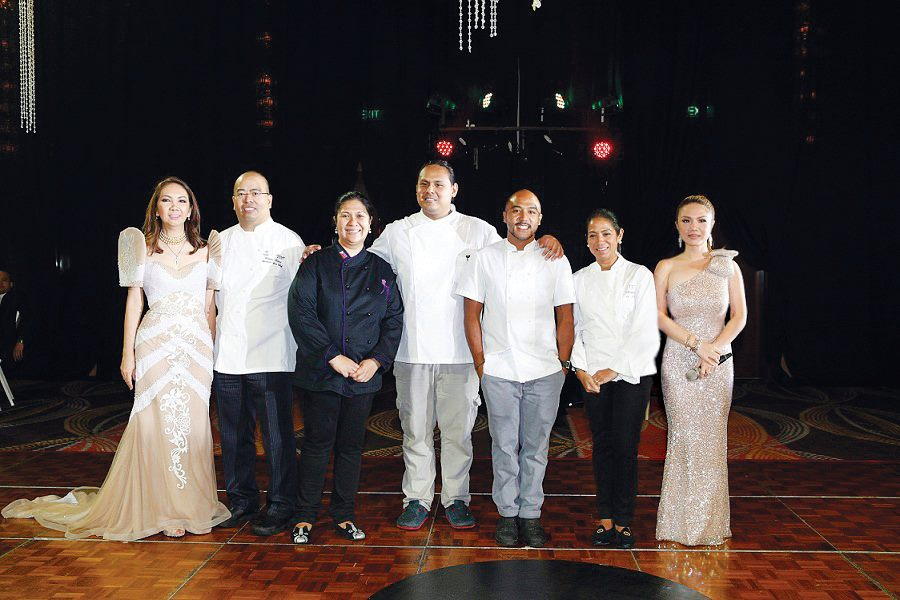 A flashback to Lifestyle Asia's 27th Anniversary Gala at the Raffles/ Fairmont Hotel: Anna Sobrepena, Robert Bolanos, Dedet dela Fuente, JP Anglo, Margarita Fores, Cheryl Tiu