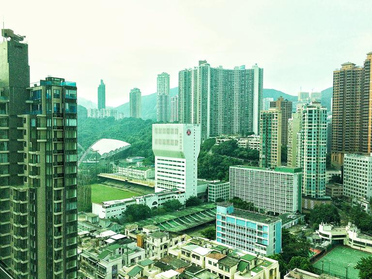 Lanson Place- Causeway Bay- Hong Kong- View of Victoria Park