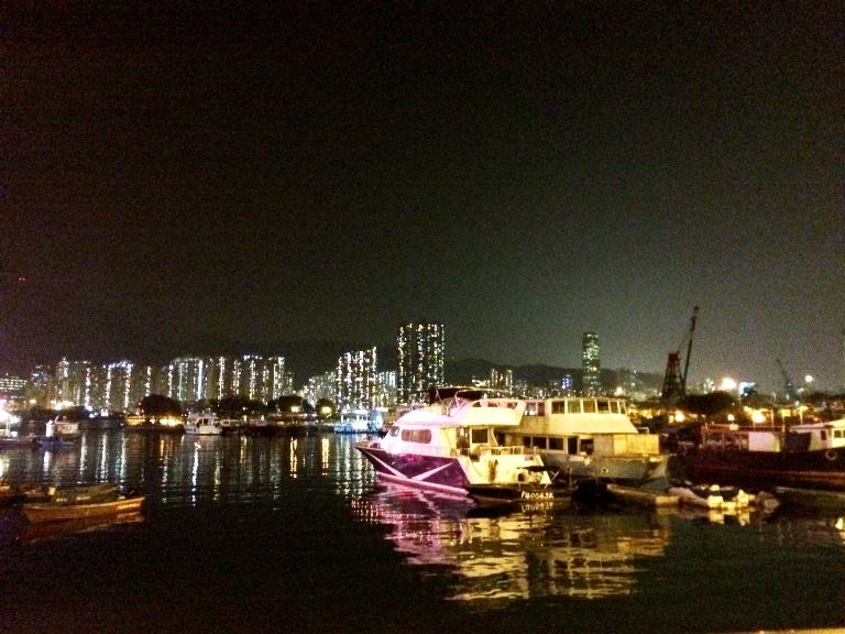 Lei Yue Mun is a short channel between Junk Bay and Victoria Harbour that separates Kowloon and Hong Kong Island