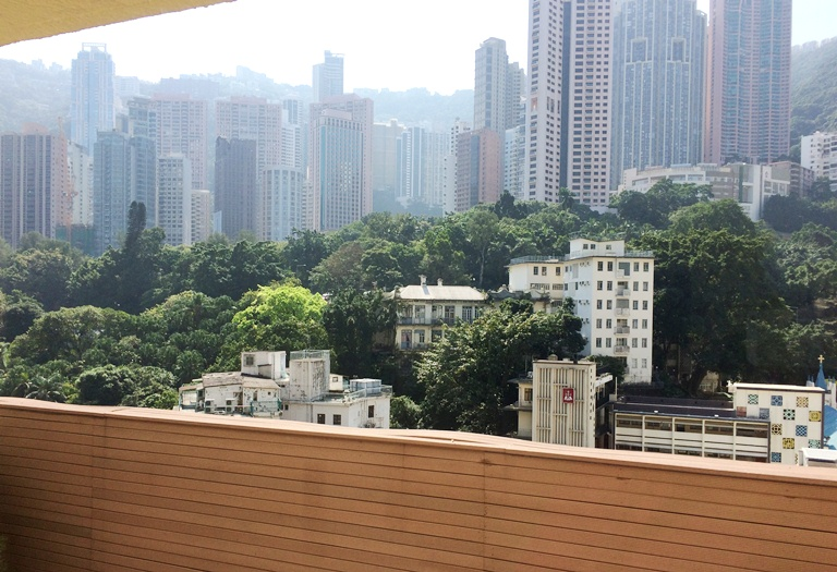 Room with a view: Mini Hotel on Ice House Street in Central looks out to Mid-Levels and the Hong Kong skyline
