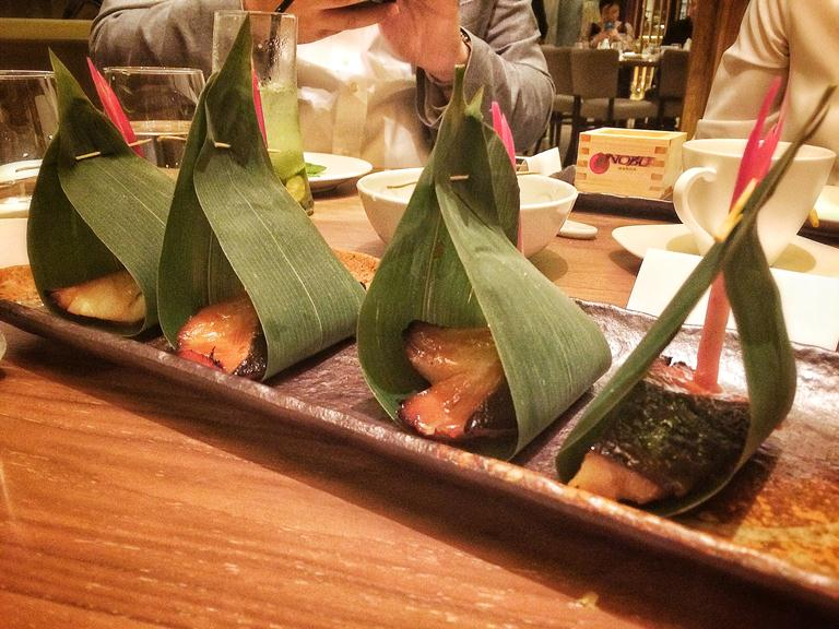 Nobu Manila- Alaskan black cod with sweetened miso sauce