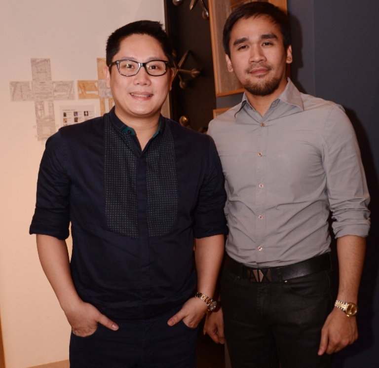 One Mega Group VP Archie Carrasco and Folded & Hung's Ronald Pineda