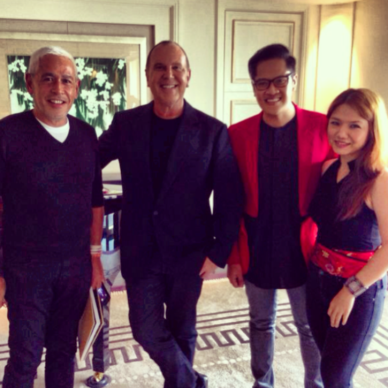 What an honor to have met and interviewed THE Michael Kors, along with fellow Philippine journalists Raul Manzano and Suki Salvador, at the Peninsula Shanghai.