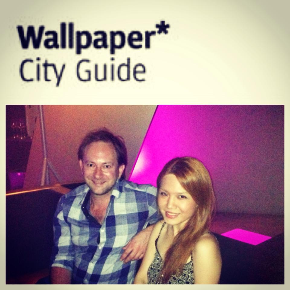 """I posted this on my Facebook and Instagram last January 11, 2014: """"Welcome to the Philippines, Wallpaper* City Guide editor Jeremy Case!!! We are collaborating on something super exciting that will put MANILA on the global scale, especially in terms of design and architecture. Really thankful and blessed for this opportunity!  Look out for it later this year!"""""""