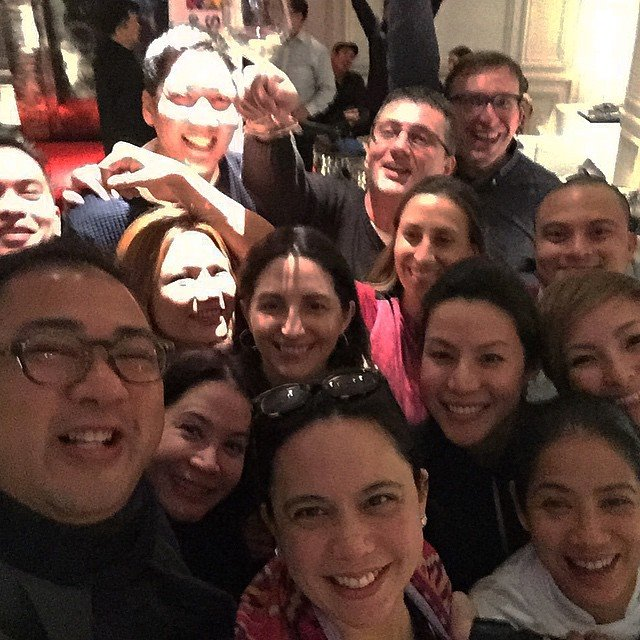 And.. an epic selfie of the Philippines and Spain! Even Elena Arzak herself said this was the best group selfie! (Photo and self-we courtesy of JJ Yulo/ Just Jonesing)