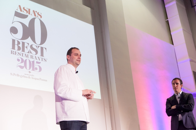 Eleven Madison Park's Daniel Humm and Will Guidara's talk at the Asia's 50 Best Summit was one of the most inspiring ones, according to most of the guests. (Photo courtesy of Asia's 50 Best)