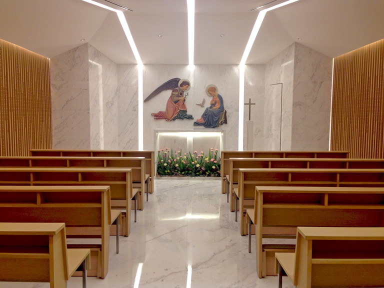There is also a chapel on the 3rd floor :)) (Photo courtesy of Discovery Primea)
