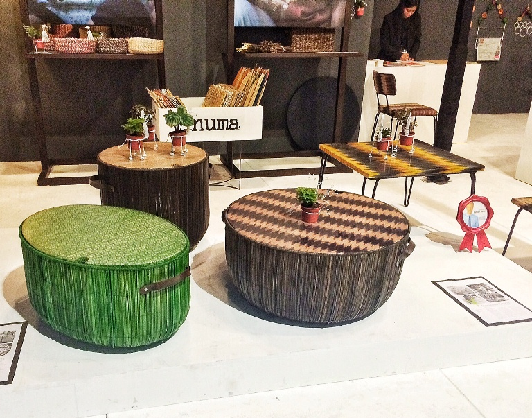 The T'nalak tables by Hacienda Crafts are both Pinoy and modern at the same time!