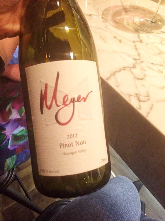 Meyer Pinot Noir from Okanagan Valley