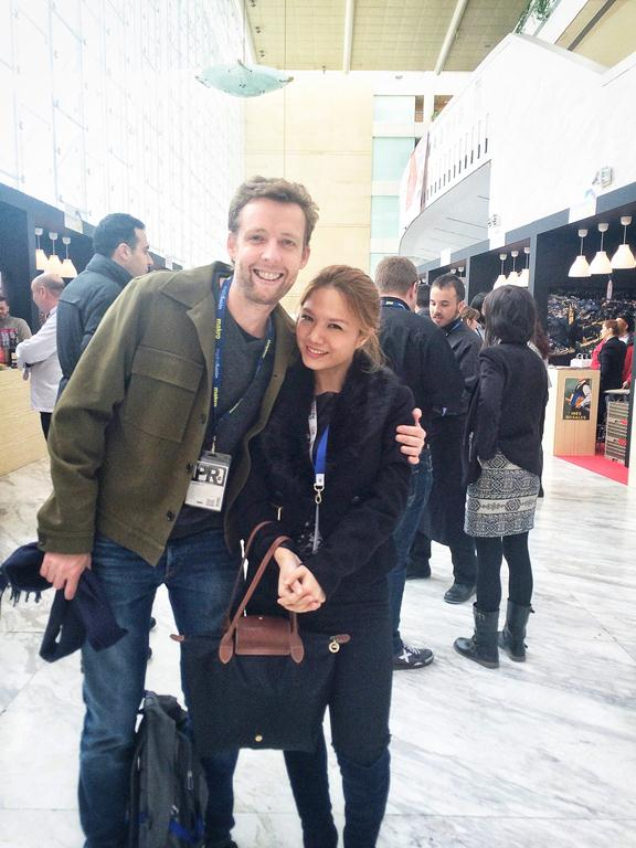 I first met Madrid Food Tour co-director and tour guide James Blick at Madrid Fusion in Spain! He also happens to be a fellow journalist.