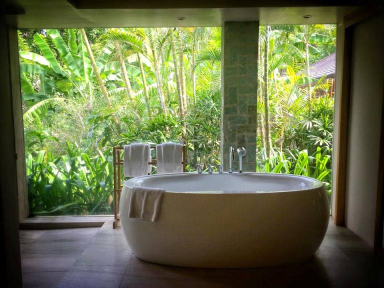 The Farm at San Benito- Narra Villa- Bathroom Tub