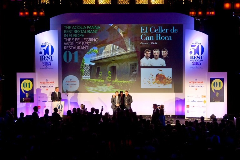 Number one!!! El Celler de Can Roca's winning moment at the World's 50 Best Awards