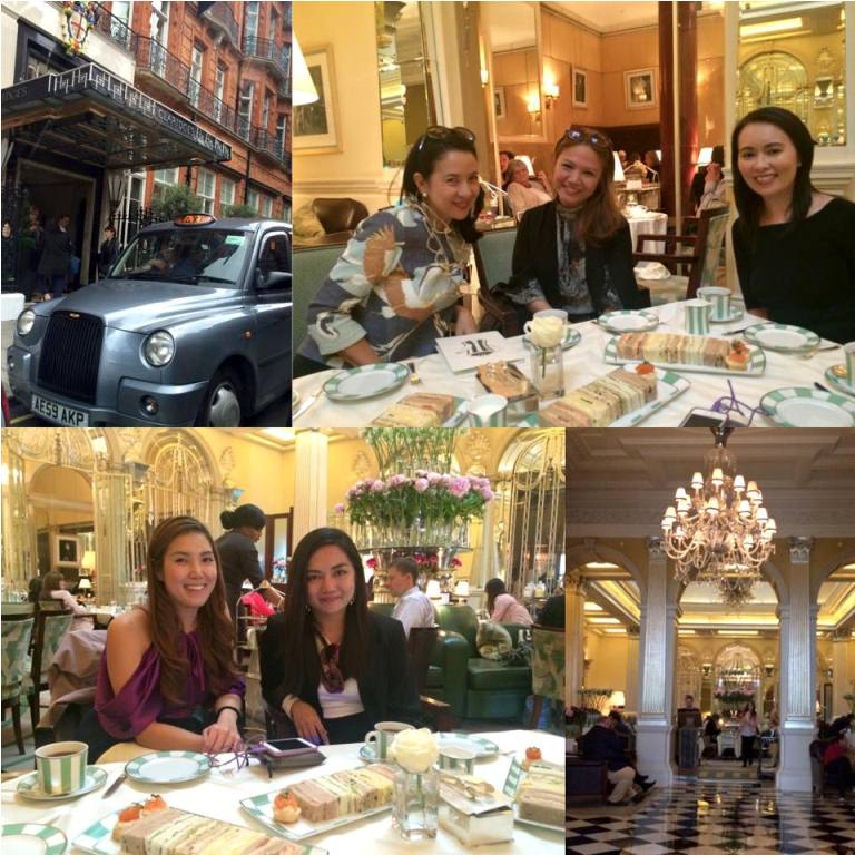 Have afternoon tea at Claridge's...