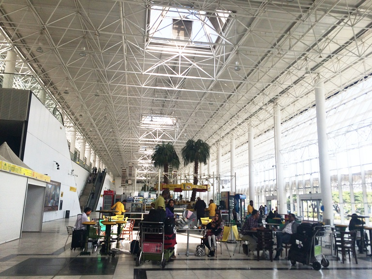 Bole International Airport is pretty modern, and the Wifi is fast and FREE everywhere!