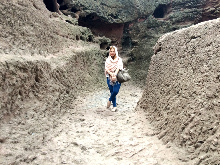 Cheryl Tiu, Rock-Hewn Churches, Lalibela, Ethiopia