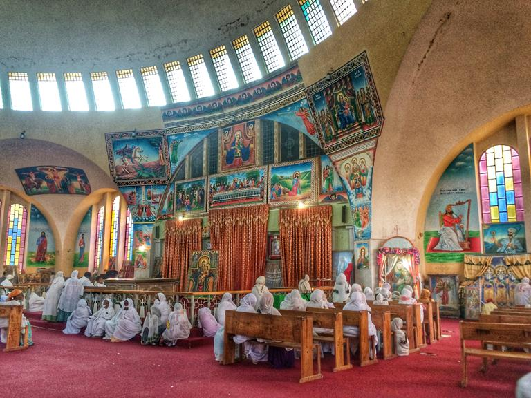 Insider Tsion Mariam Church (Church of Our Lady Mary of Zion) in Axum, Ethiopia- Cheryl Tiu