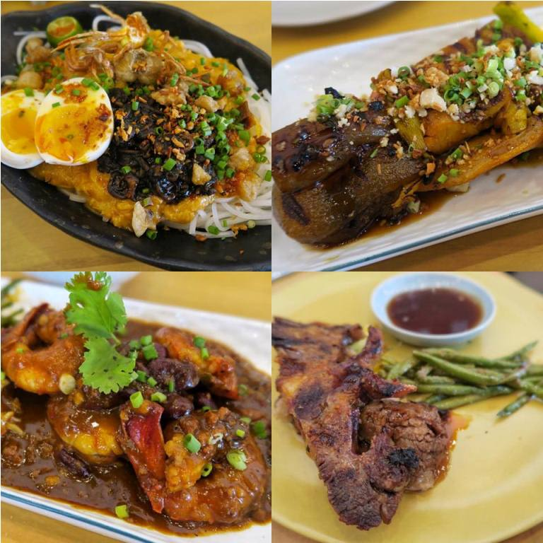 Some of the dishes at the new Kafe Batwan by Sarsa Group. Read more to find out about them!