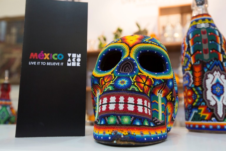 Awesome Mexican decor at the afterparty in honor of the 2015 Latin America's Best Restaurants being held there later this year! (Photo courtesy of World's 50 Best)