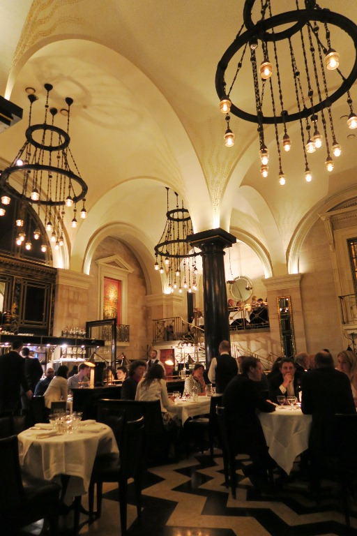 Had dinner at The Wolseley...