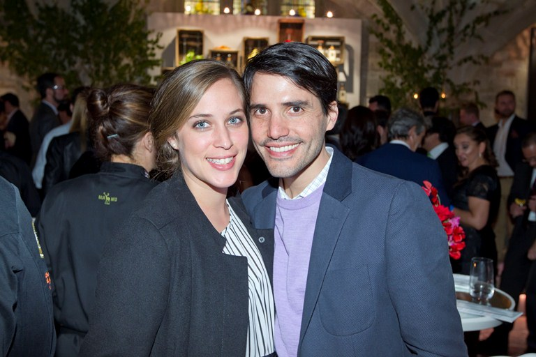 """So good-looking! Virgilio Martinez of Central in Lima, Peru (#1 Restaurant in Latin America) and his stunning wife (and also Central's head chef) Pia Leon, were described by William Drew as """"the Brangelina of the culinary world"""" :) Central is #4 Best Restaurant in the World, the highest in Latin America on the list!"""