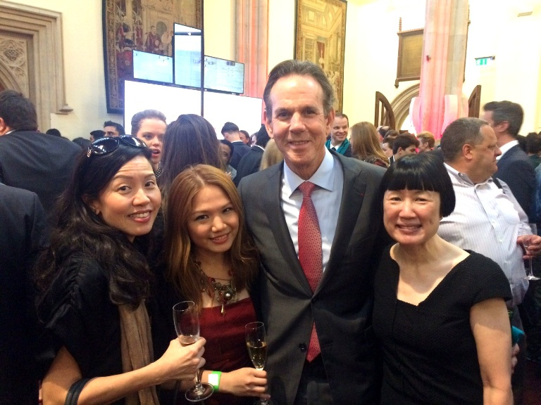 I almost freaking fainted when I saw THOMAS KELLER!!! Omg!!! He was so gracious, too, when I ran into him at coat check after the awards and congratulated him on his The French Laundry (#50) and Per Se (#40). Here I am with Southeast Asia Academy Chairs, Evelyn Chen (Southeast Asia- South) and Susan Jung (Hong Kong, Macau, Taiwan)